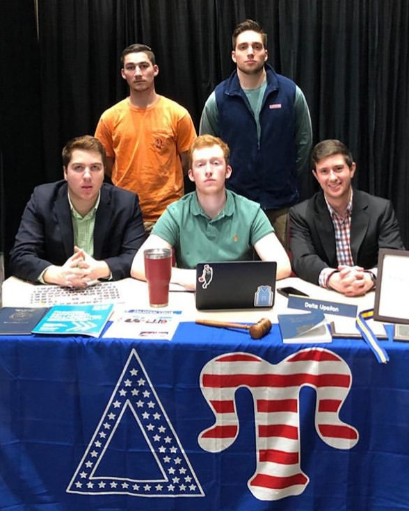 Spring Rush Recap - 1/25/19With Spring Rush complete, our chapter has welcomed a group of outstanding potential new members into the fraternity. At the IFC 'Tables' event (Pictured) our brothers got to see many familiar faces from other events hosted throughout the recruitment cycle, and got the opportunity to talk about the details of day-to-day life in Delta U with a diverse group of interested rushees.Δικαια Υποθηκη.