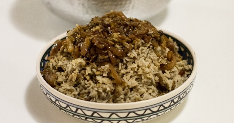 Mejaderra — Rice and Lentils