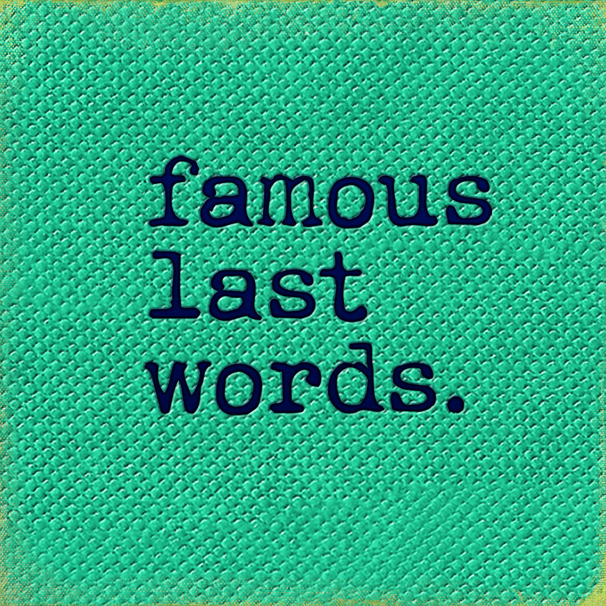 """FAMOUS LAST WORDS COCKTAIL BAR   The following is placeholder text known as """"lorem ipsum,"""" which is scrambled Latin used by designers to mimic real copy. Donec eget risus diam. Fusce at massa nec sapien auctor gravida in in tellus. Class aptent taciti sociosqu ad litora torquent per conubia nostra, per inceptos himenaeos."""