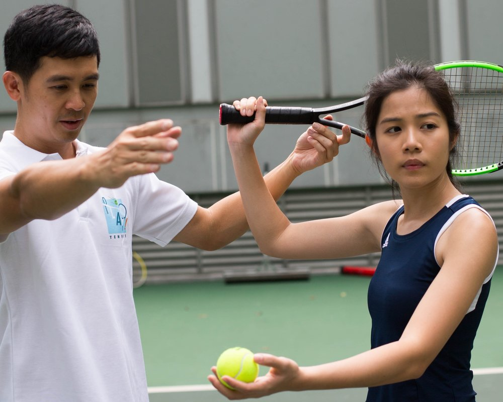 Play Tennis Private Coaching Lessons