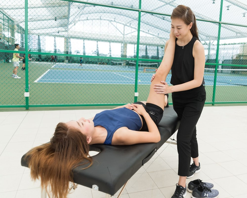 Play Tennis Lessons Sports Massage Therapy