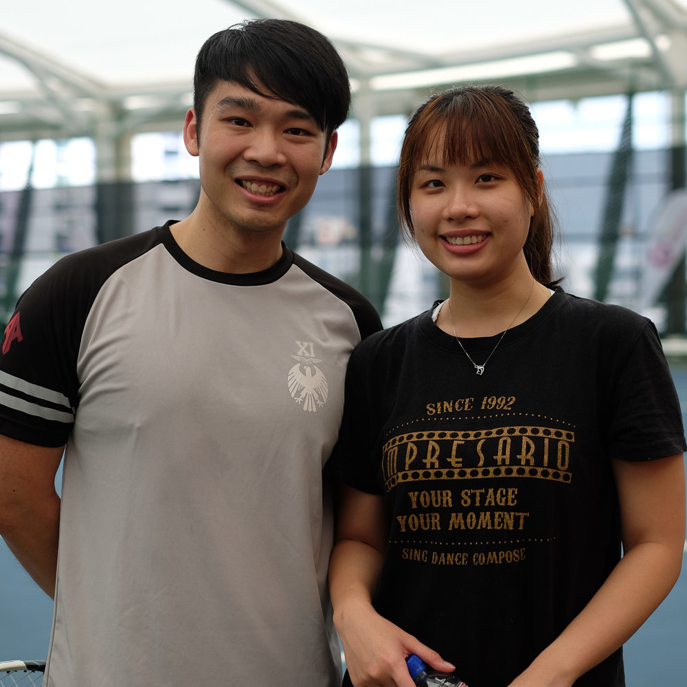 Learn Tennis Together - We signed up with Play! Tennis for pair tennis lessons as we wanted to pick up a sport together. This gives us the opportunity to keep fit whilst spending time with each other. We look forward to our tennis lessons once a week and will definitely continue for at least a year!Jasper Loh & Julia Ong