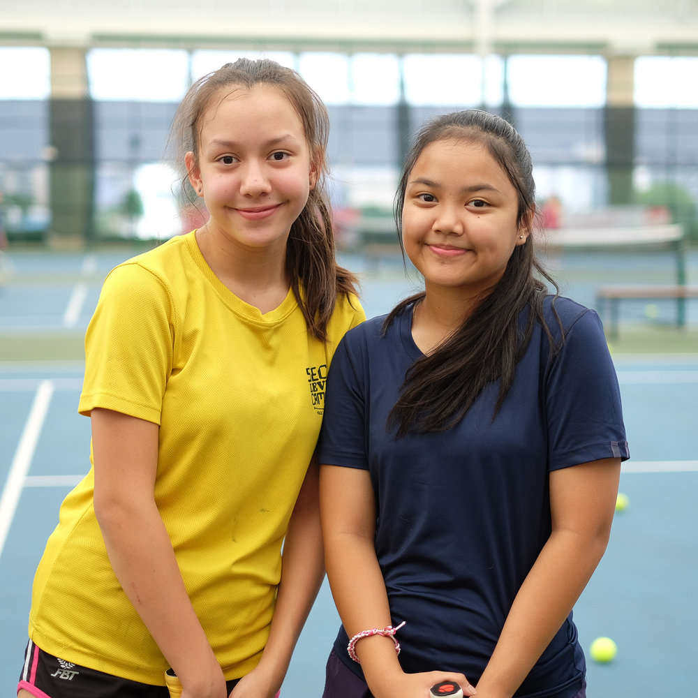 Tennis Made Easy - We always had the impression that tennis was a difficult sport to learn for young girls like us. However, our tennis coach was really approachable and taught us in a way that was easy to understand. We are enjoying the game and have been encouraging our friends to take up tennis lessons as well.Rehanie & Saffy