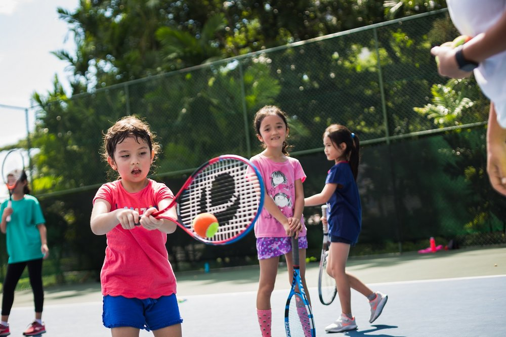 Tennis Lessons Kids Camp