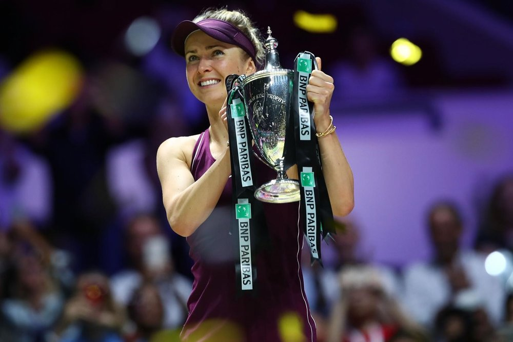 Svitolina wins the 2018 WTA Finals in Singapore