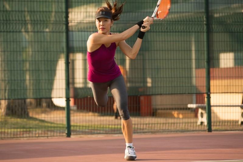 Singapore's tennis pro, Sarah Pang