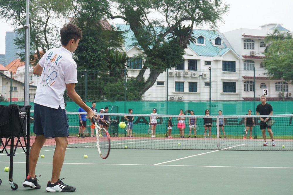 Tennis Coach Singapore Club
