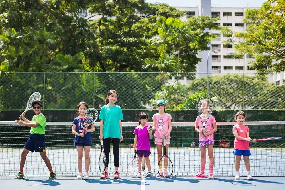 Kids Tennis Camp Singapore