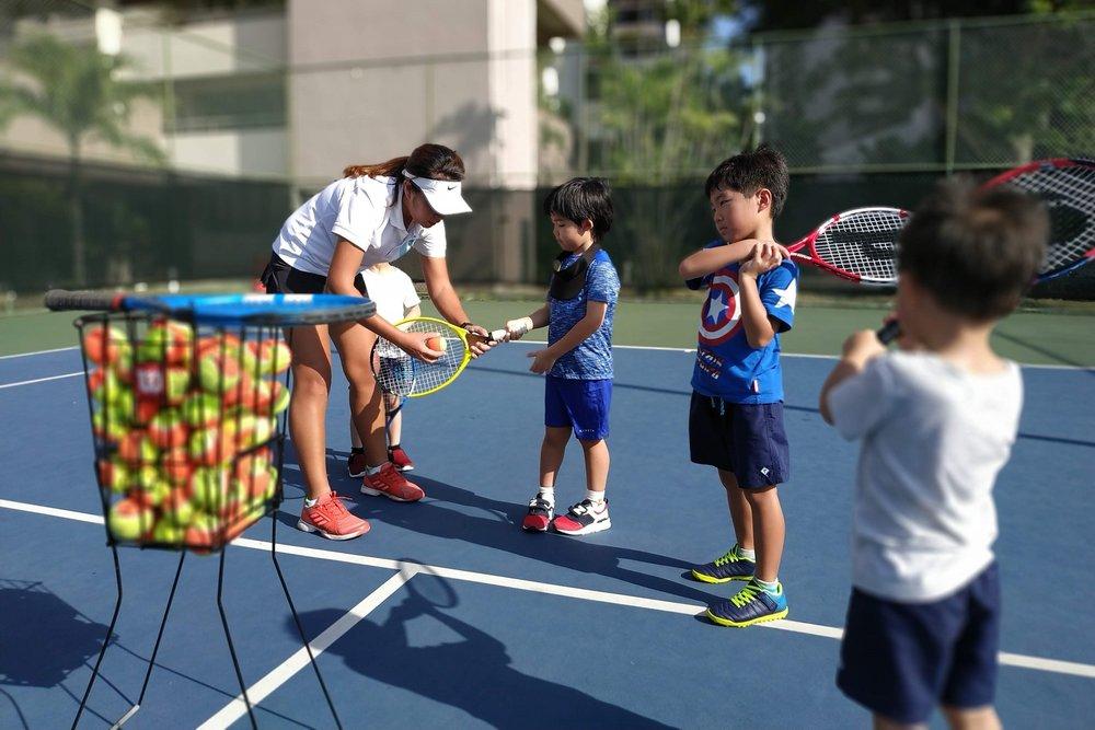 Kids Tennis Class Group