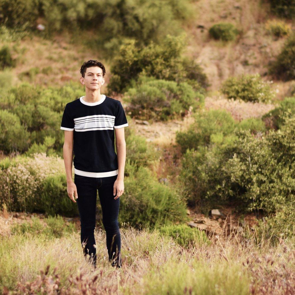 Graham in Cave Creek, AZ (April 2017) photographer: Madison Milacek