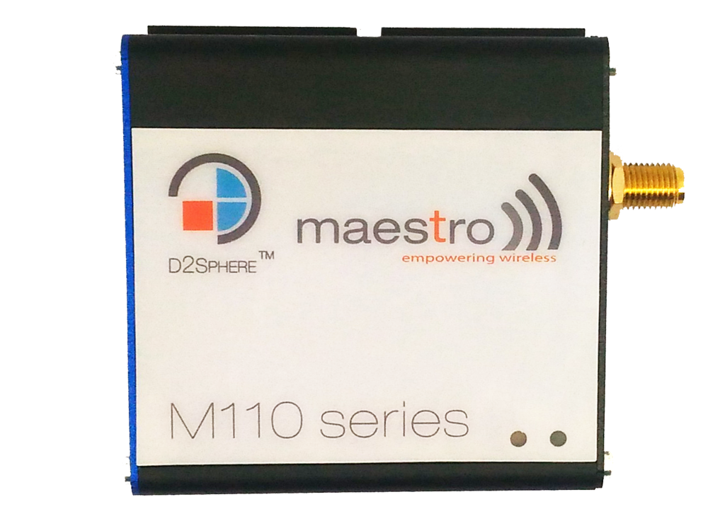 New Maestro M110's - Maestro M110 modems are designed to provide connectivity across a broad range of M2M and IoT applications. They allow Internet connectivity via serial port to PLCs, Meters, Vending Machines. They help transporting data from any industrial device to data control servers, allowing businesses to benefit from real-time data monitoring, management and control.