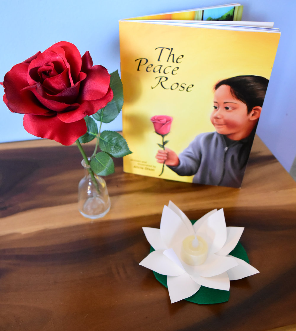 The peace table and peace rose
