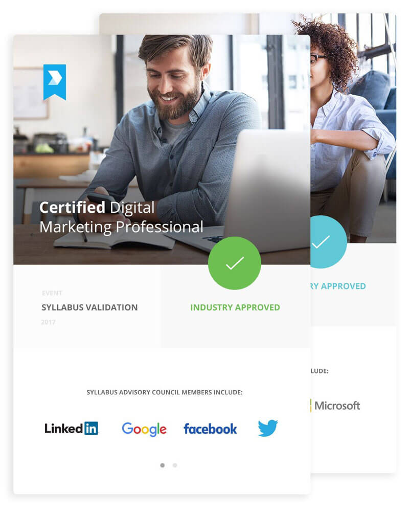 INDUSTRY VALIDATED - This program provides an in-depth and comprehensive introduction to the core essentials of digital marketing. Validated by the Digital Marketing Institutes Industry Advisory Council, the learning content is informed and designed by experts and offers learners the opportunity to gain a globally recognised professional certification.