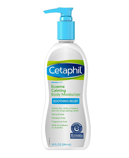 Cetaphil Eczema Calming Moisturizer - When my eczema flares up I use this and it calms it down.