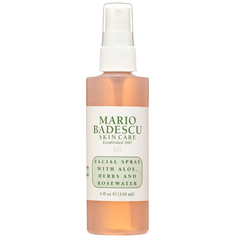 Mario Badescu Facial Spray - This gives you that glow and it smells soooo good!