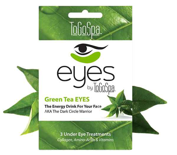 ToGoSpa Under Eye Collagen Gel - This totally gets rid of puffy eyes and dark circles.