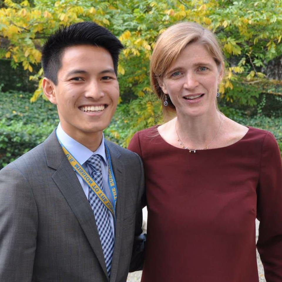 Matt worked in Europe with UN Ambassador Samantha Power to combat the Ebola epidemic.