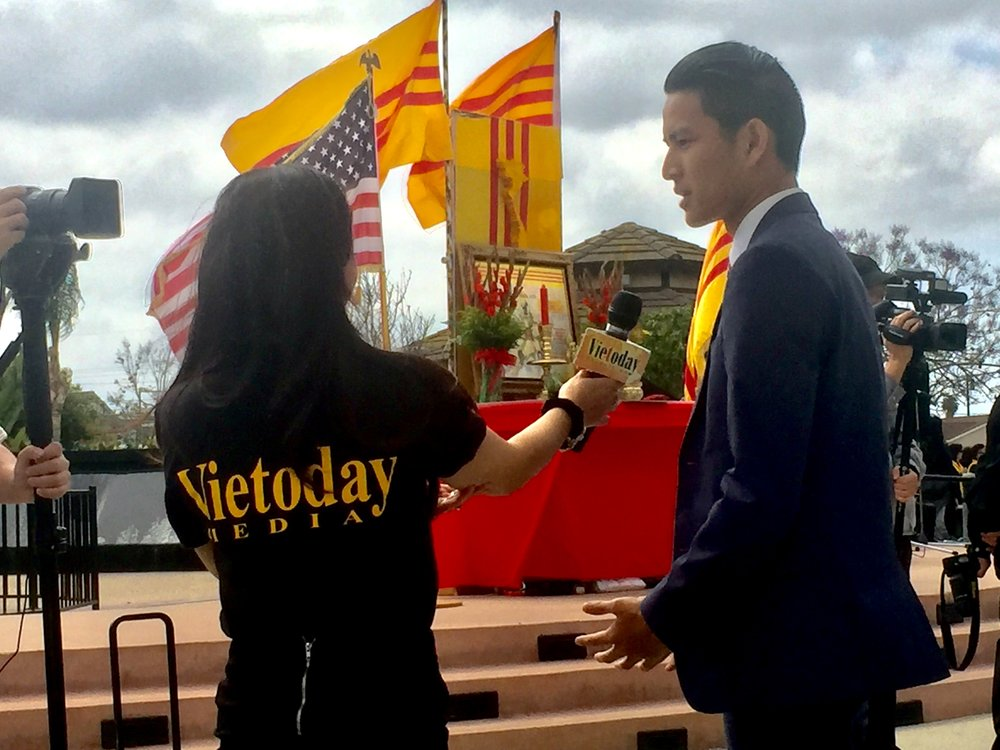 Matt Nguyen is interviewed by Vietoday Media