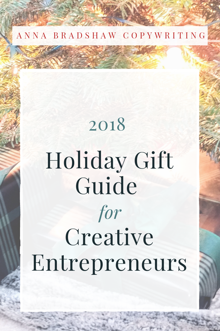 The most practical Christmas gifts for Creative Entrepreneurs in 2018