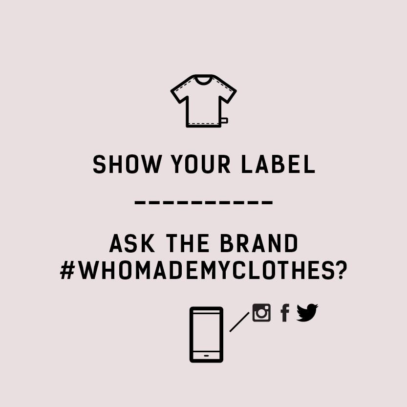 Courtesy of Fashion Revolution's social media packet.