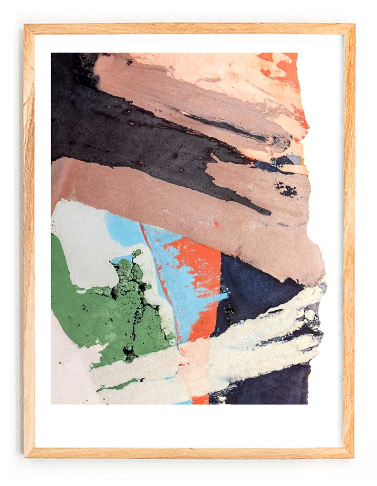 Printed Artwork #05  (2015) Giclee print on natural cotton rag paper