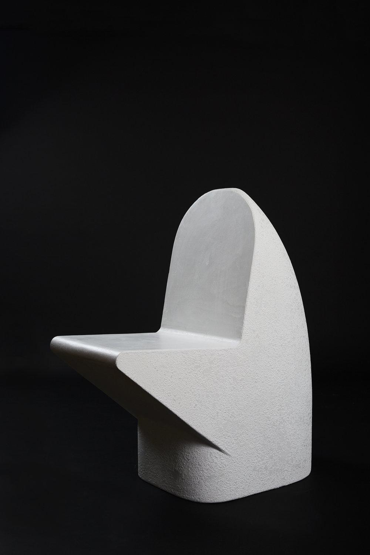 Snake Head Seat - Blanco (2018) Cement |L870 x W440 x H960  $3400