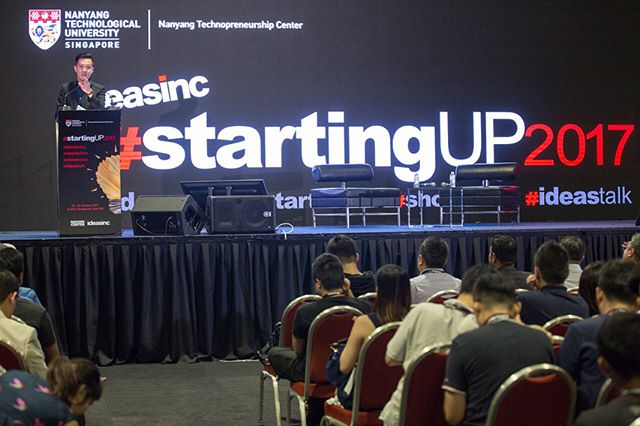 #tbt NTU Ideasinc #startingUP2017. It was an intense and exciting 3 days for the participants! Great job to all the participants and we hope that it was a fulfilling and enjoyable time for all!  #teamadrenalin #futureofevents #sgevents