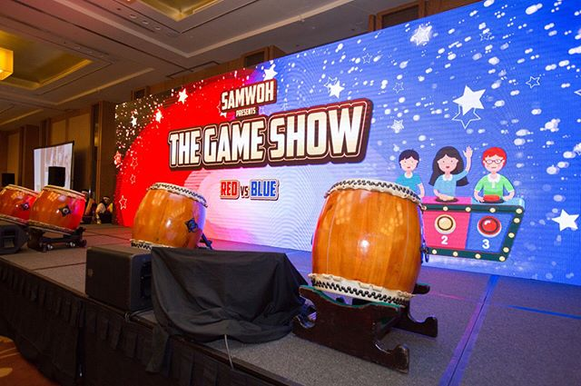 One of the more interesting themes that we have done, The Game Show theme at SAMWOH D&D 2017 held last November at MBS! It was a fun night for the guests with all the most popular games such as Minute To Win It, Deal Or No Deal and The Price is Right! #teamadrenalin #sgevents #futureofevents