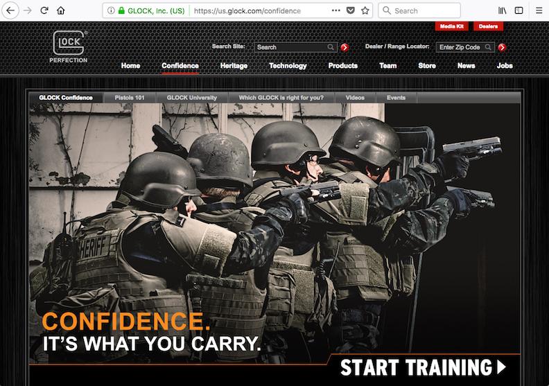 GLOCK USA (Select Sections)   Client Agency/Design: Leader Enterprises