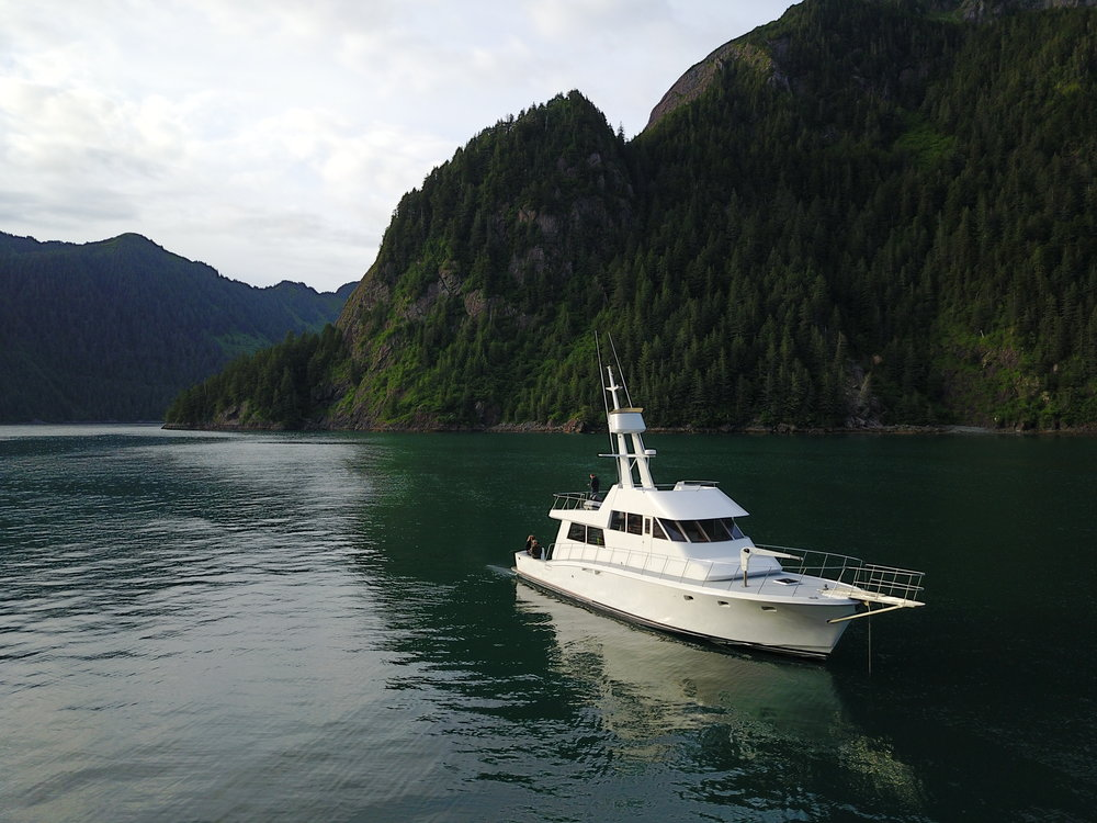 Private Luxury Alaska Yacht Trips