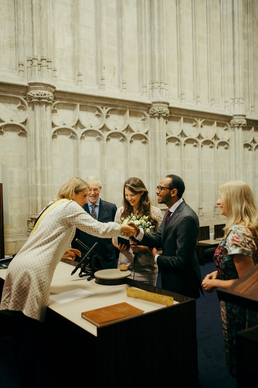 City Hall Wedding Ghent