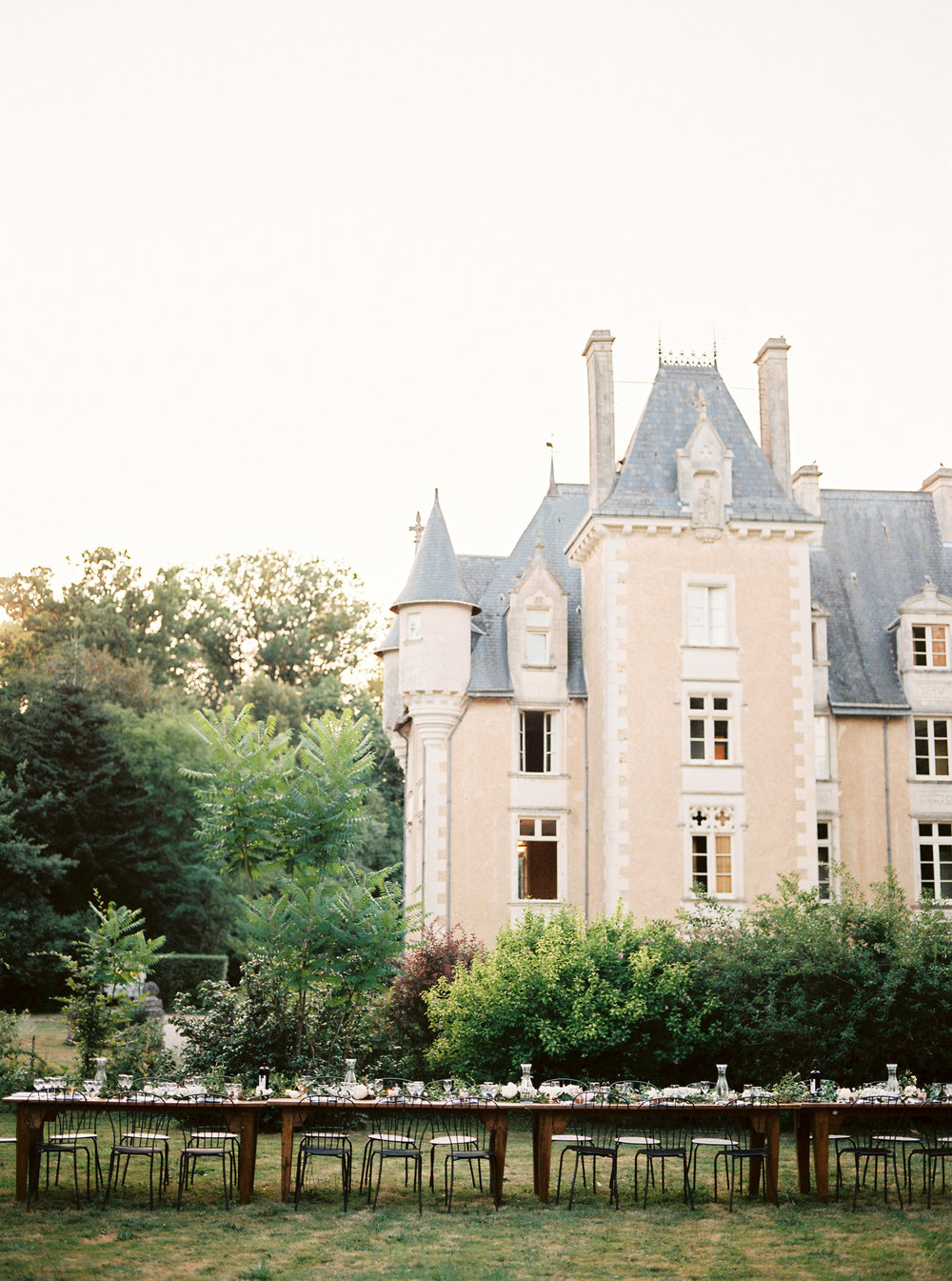 french weddingchateau saint julien -