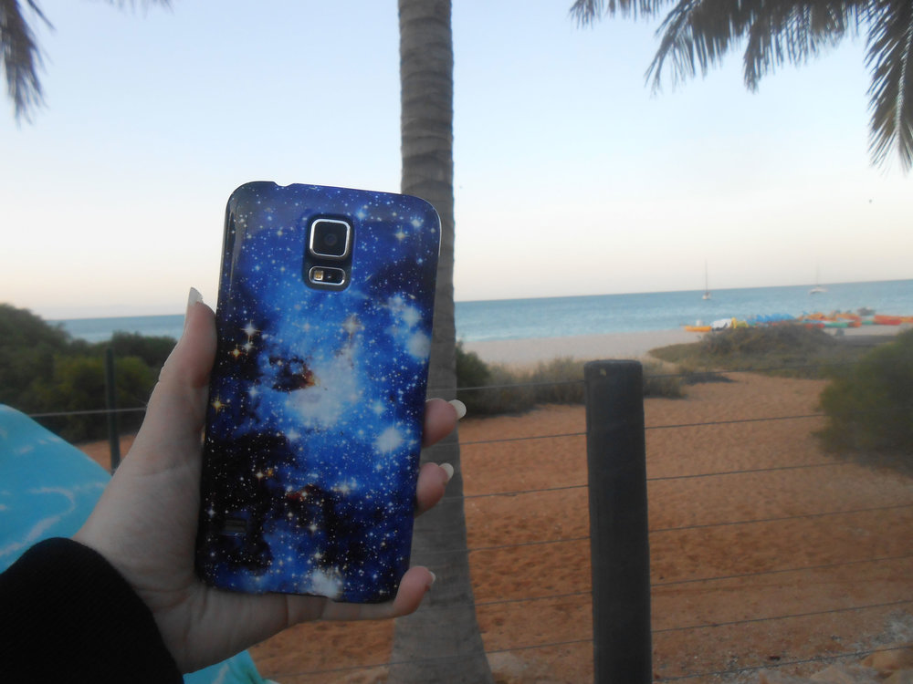 See the stars   Hold the universe in your hand    Shop Galaxy Phone Cases