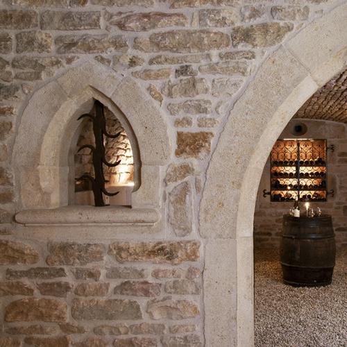 Murs en pierre -