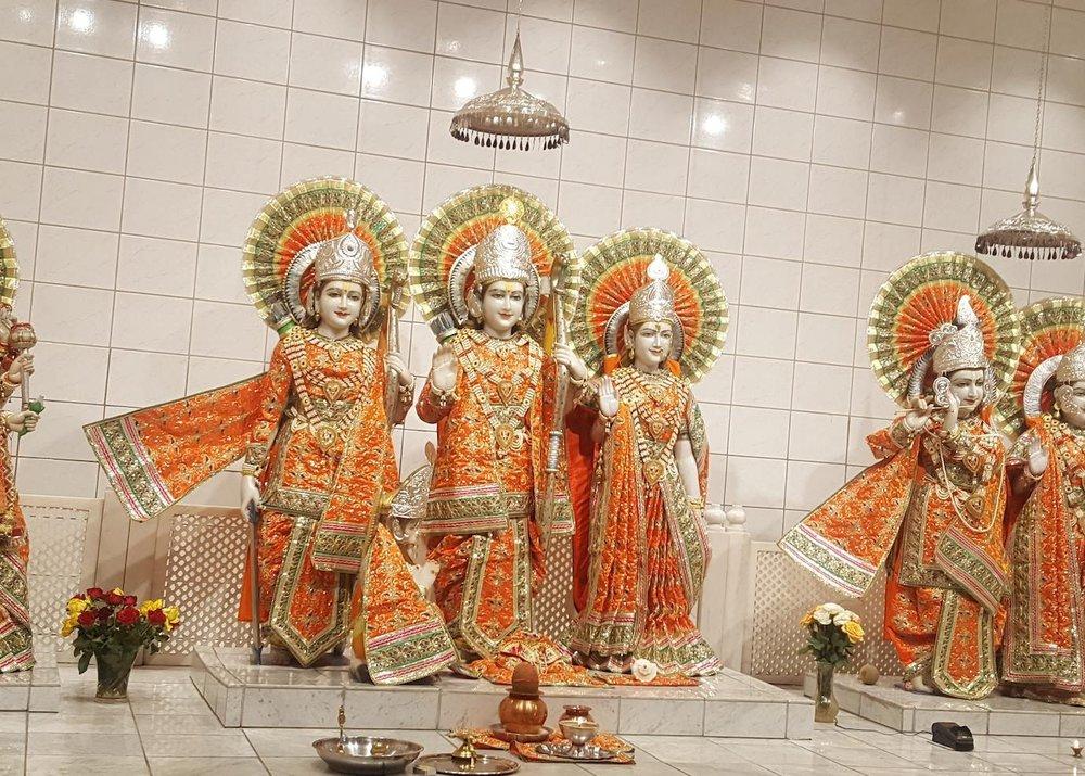 25. February 2018 - Maha Shivratri - Sanatan Mandir Sabha Hindu temple, Slemmestad, Norway13.00 - 17.00