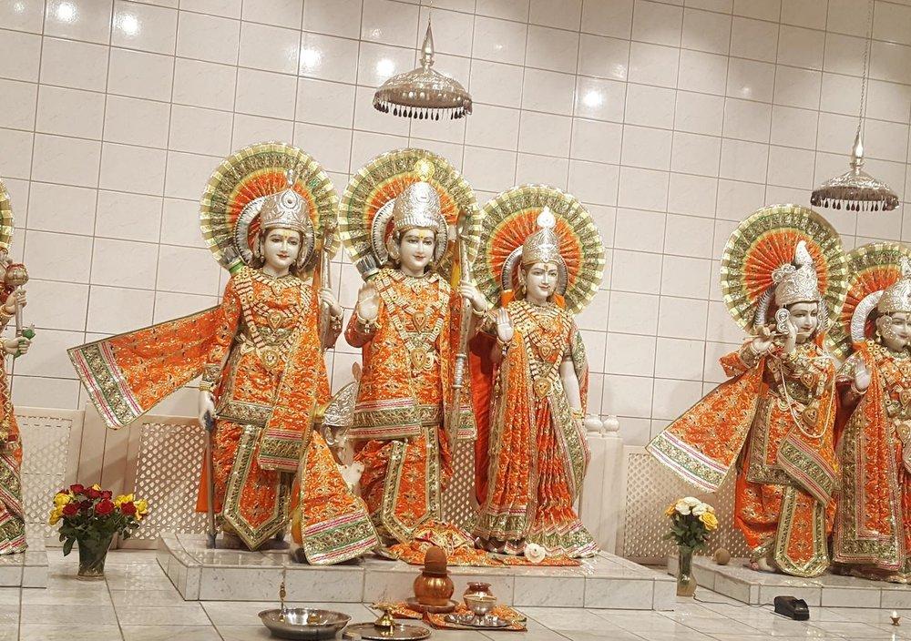 16. September 2017 - Kulturdager - Slemmestad Kirke and Sanathan Mandir Sabha Hindu Temple, Slemmestad, Norway13.00 - 18.00