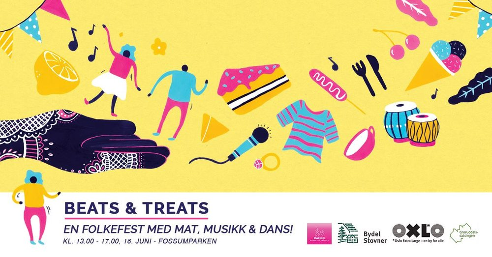 16. June 2018Beats & Treats 2018 - 13.00 - 16.00