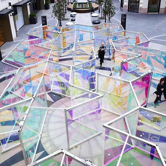 "After Istanbul and Belgrade, ""Silvana"" Light Maze has landed in Dubai. Catch this colorful installation in Burj Plaza! . 📸: @emaarsquaremall @mvnaarxo @sumesh_tm @morganbrittbutler @hamza._.negm  #artemaar #downtowndubai #dubaimall #burjplaza"