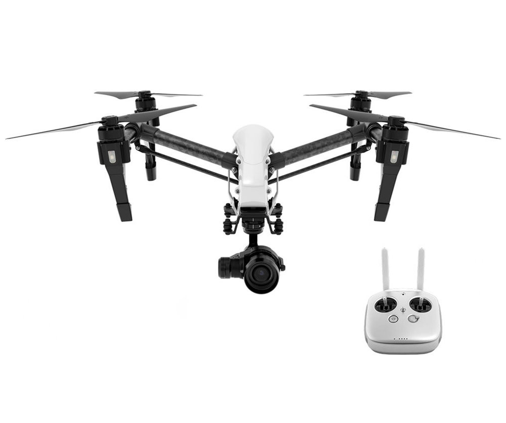 DJI Inspire 1 Pro with Zenmuse X5 camera and gimbal