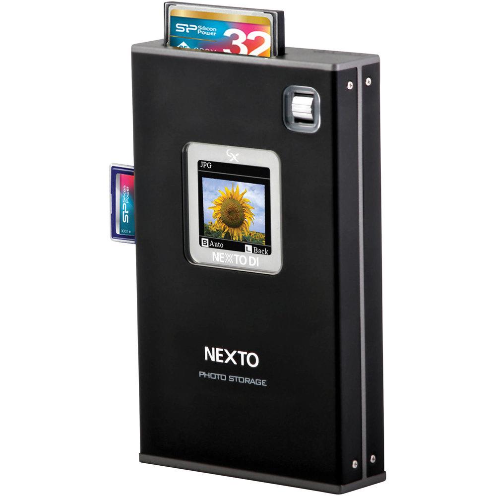 Nexto Di 1TB Auto Memory Card Back Up