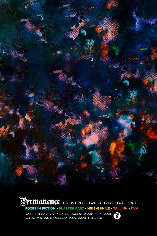 Permanence  (3.5.16)  Foxes in Fiction Plaster Cast Meishi Smile Tallinn DV-i