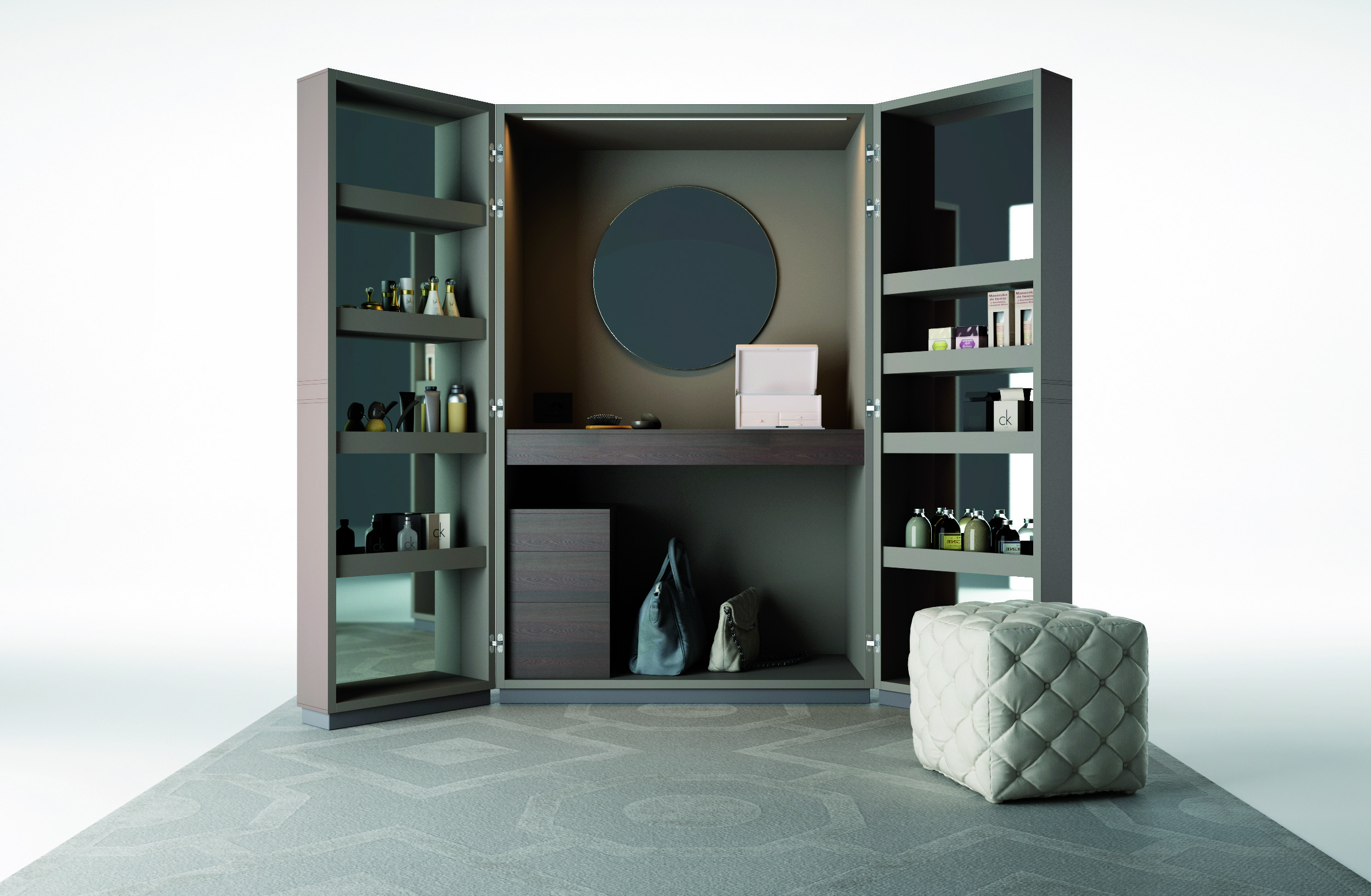 WA 06 Luxury Bedroom Vanity — Modern Italian Designer Furniture ...