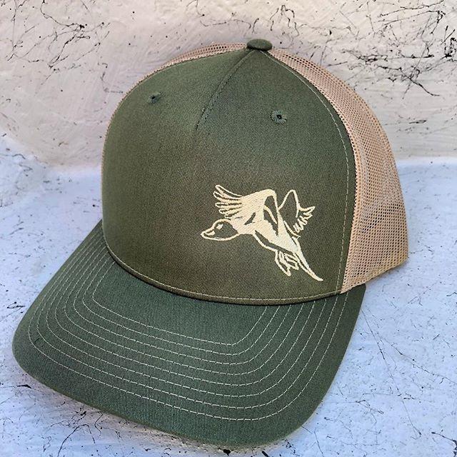 New pintail logo hats!!! @highbrasswaterfowl.com #hbw #highbrassoutdoors