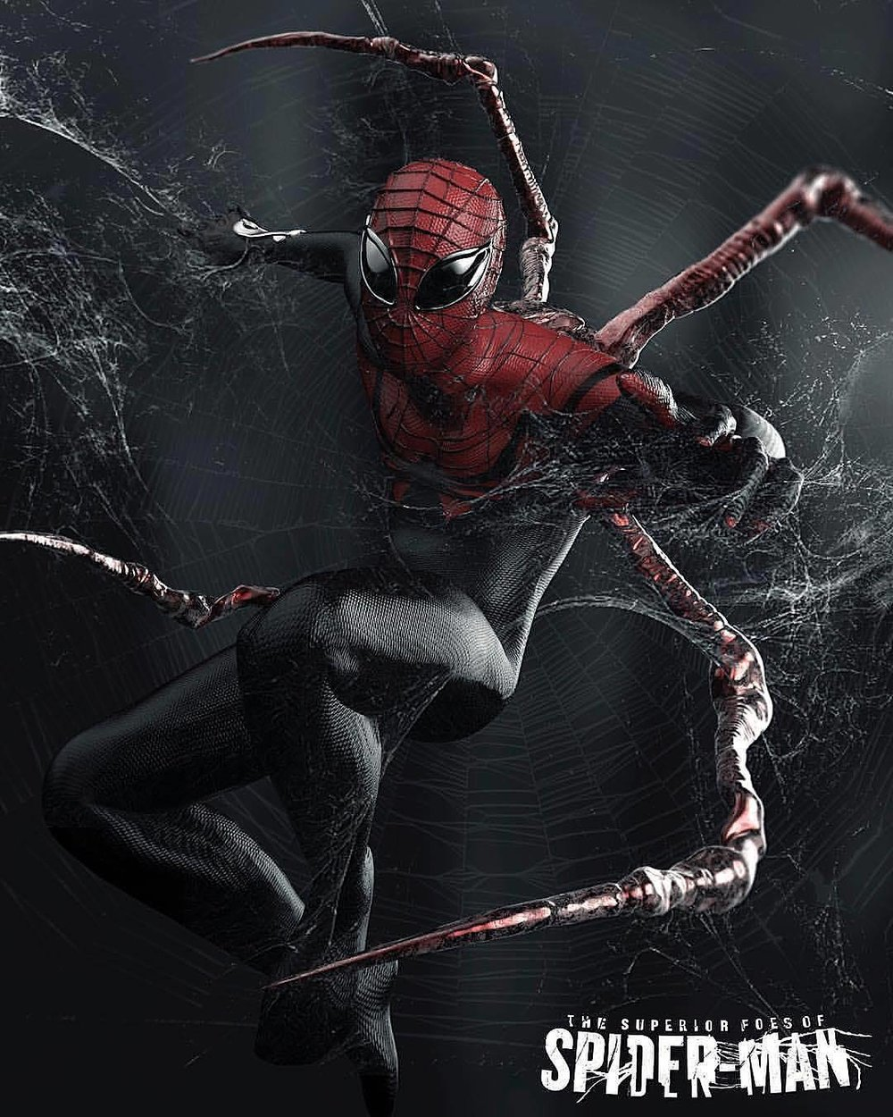"""Kostium z dodatkowymi kończynami to znak charakterystyczny Superior Spider-Mana. Jednym z małych zaskoczeń nowego filmu jest wykorzystanie tego samego myku w nowym kostiumie Petera Parkera w """"Infinity War"""". Spoko, to jest bardzo tyci, tyci spoiler."""