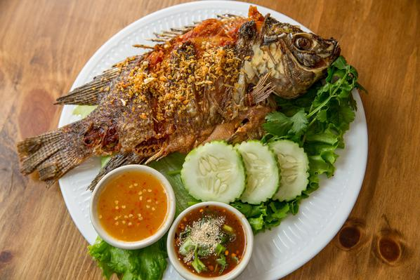 Crispy Whole Talapia