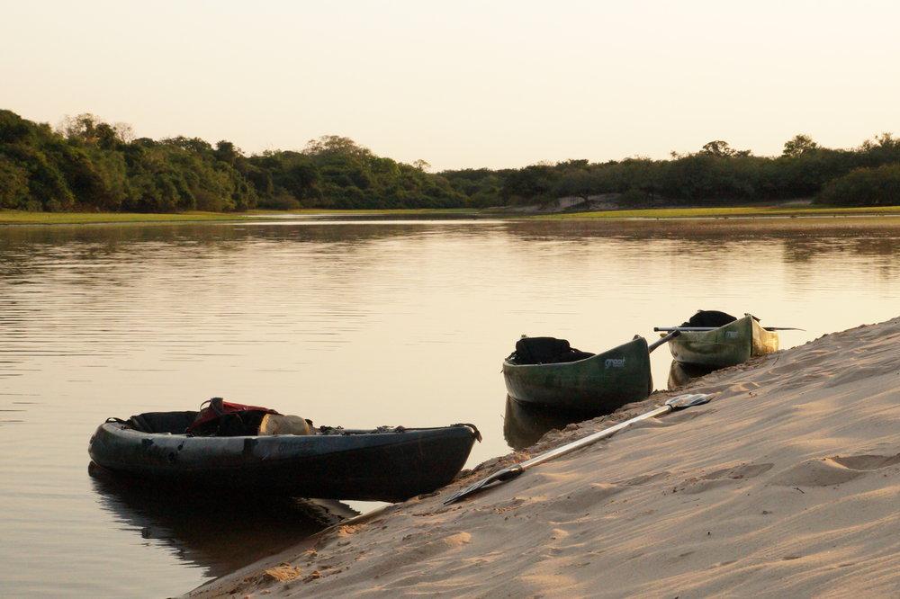 Pantanal Canoe trips