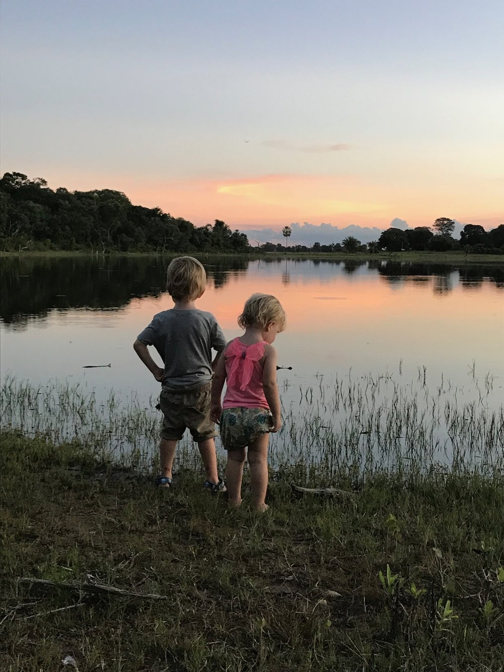 Kids Sunset Pantanal