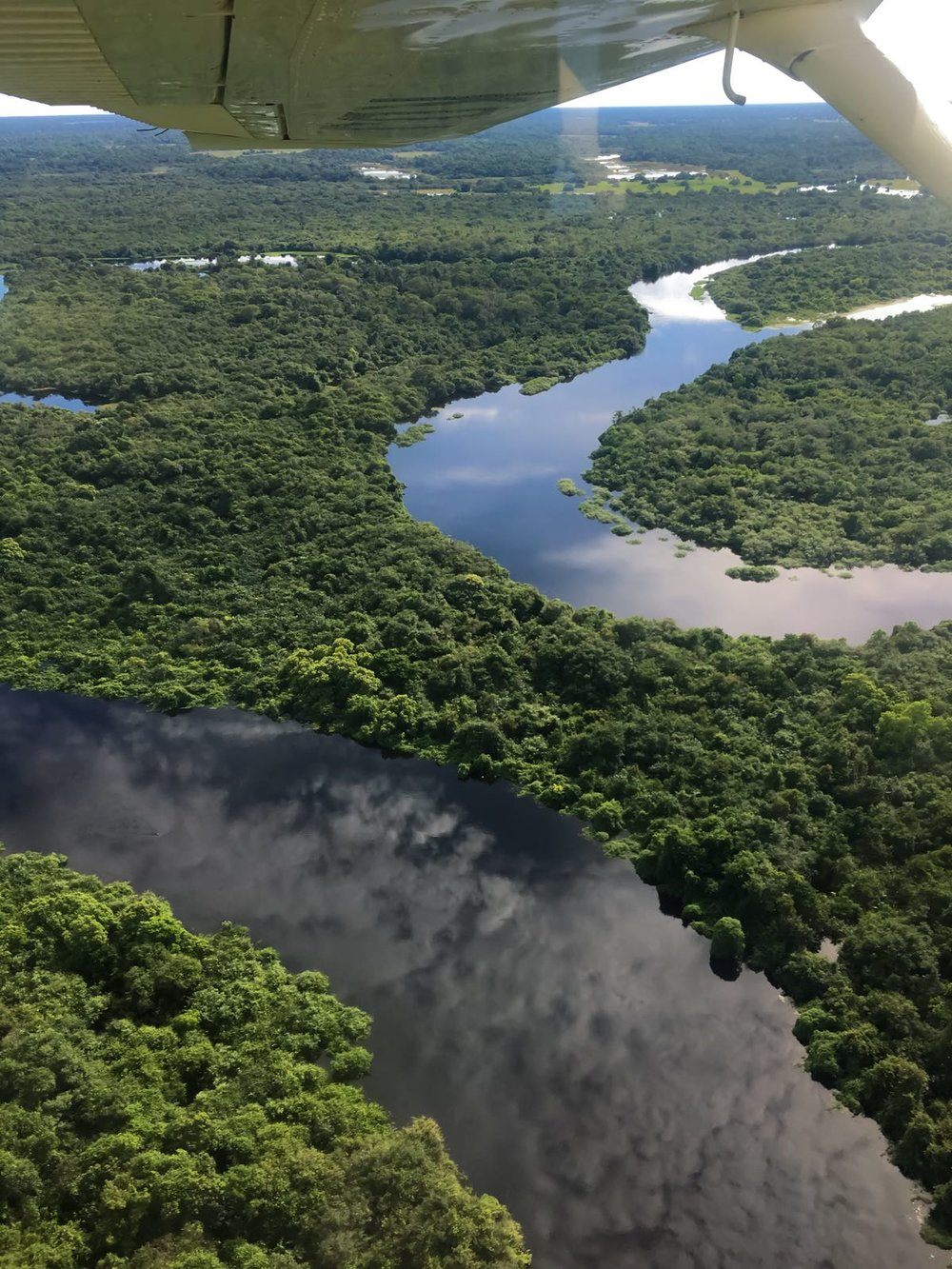 One of the most scenic flights you will experience -
