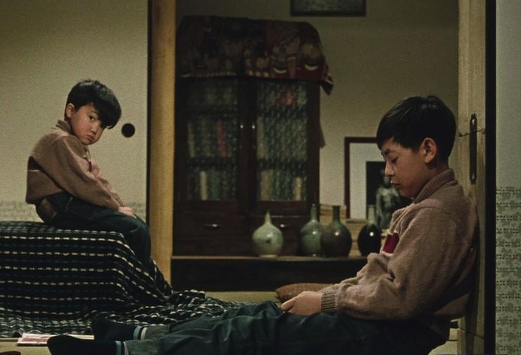 Still from  Good Morning  (1959), dir. Yasujiro Ozu