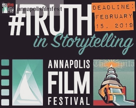 """DONT MISS OUT ON THIS AMAZING OPPORTUNITY  #Repost from @annapolisfilmfest .. We want YOU to show us how you would interpret this years Shorts Challenge theme of """"Truth in Storytelling"""". The deadline for submissions is February 15th. The winner receives a production package that is valued at $20k that includes lighting, camera, sound and postproduction audio and video services to make your movie! Then we will premiere the film at the Annapolis Film Festival 2020!  Link to submit your pitch in the bio! . . . #VoicesStrongMindsOpen  #AFF19 #Annapolis #AnnapolisFilmFestival"""